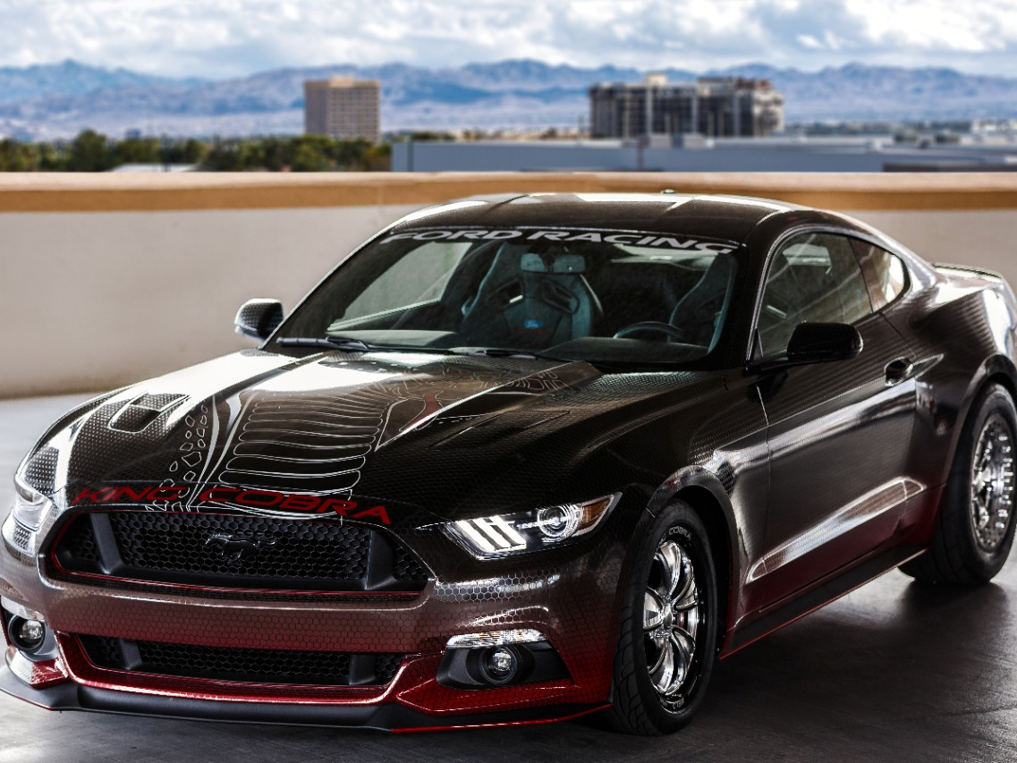 New king cobra 2015 ford mustang gt introduced by ford racing news